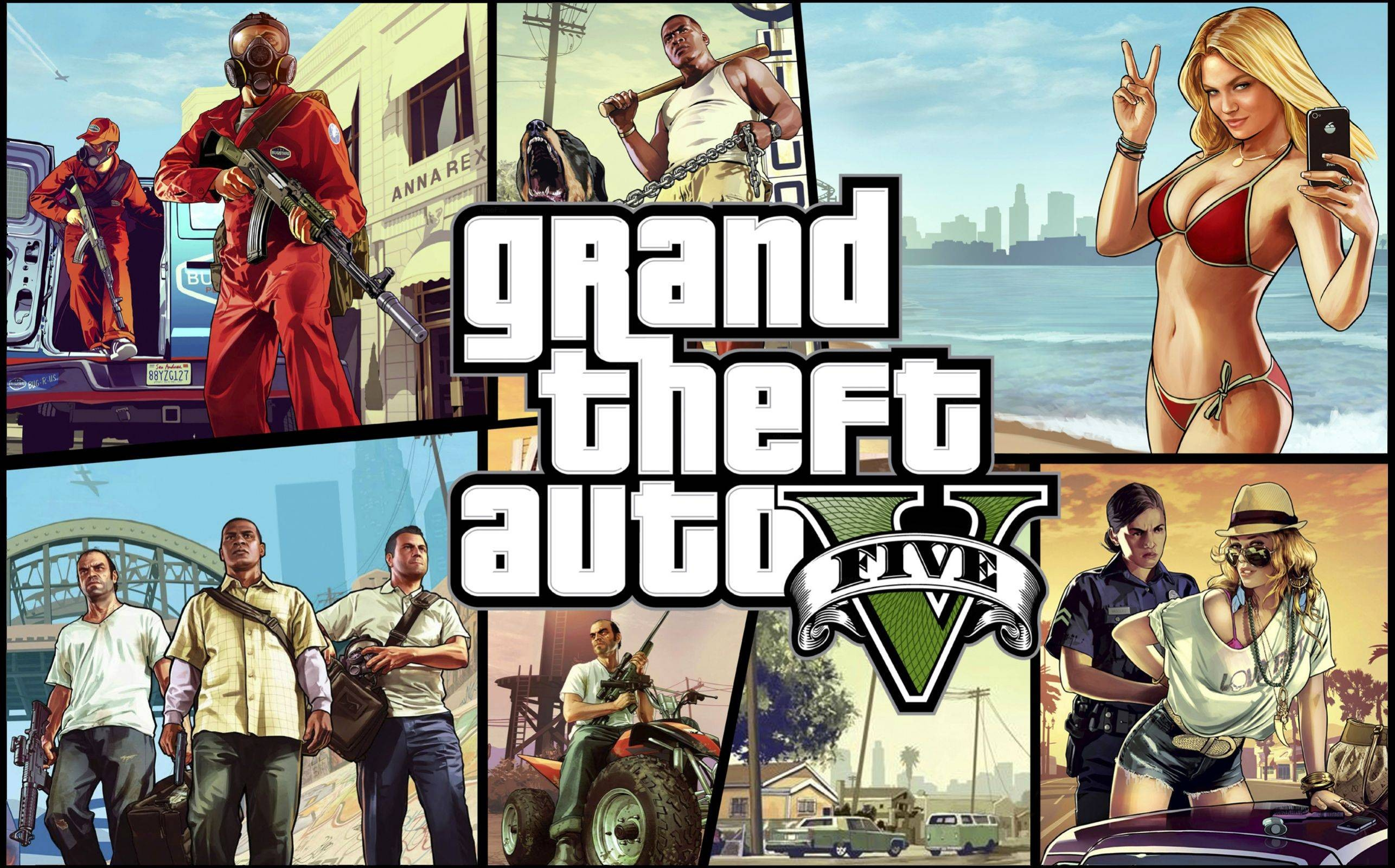 Grand Theft Auto V HD Wallpapers GTA 5 Online