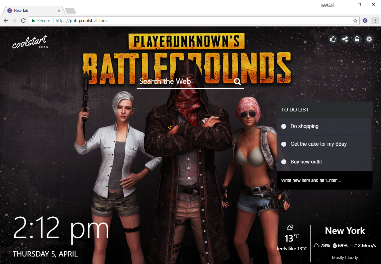PlayerUnknown's Battleground Battle Royale